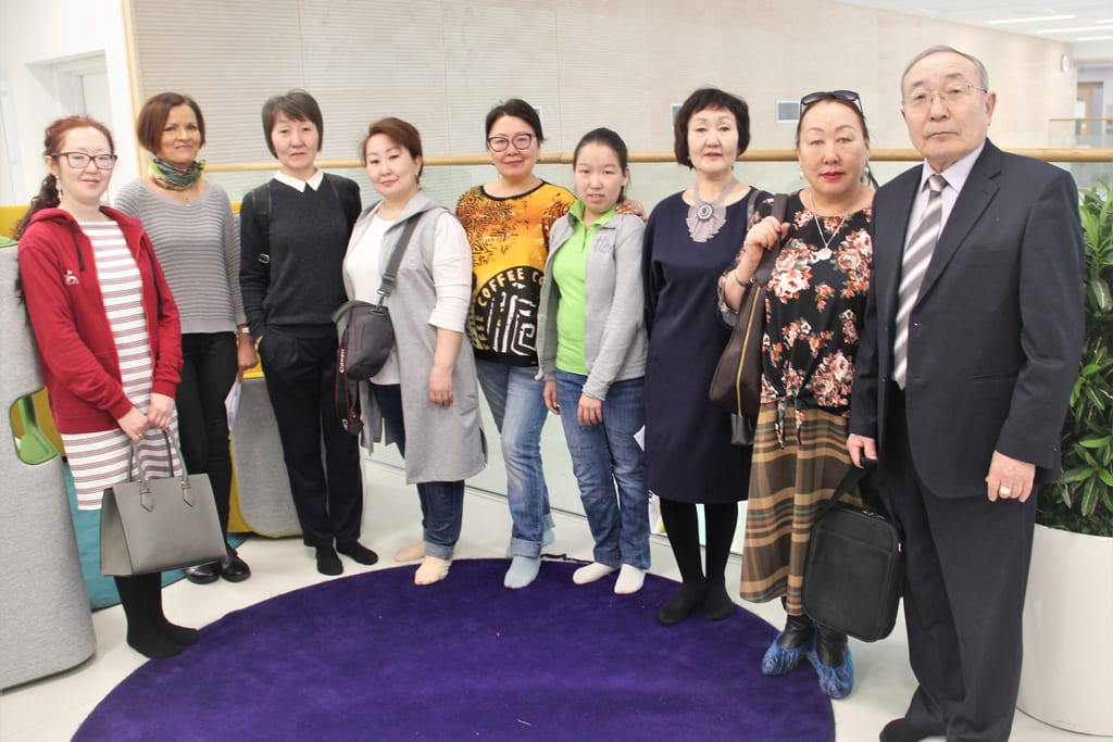 March_2019_1_Group of 10 educators from Yakutia, Russia