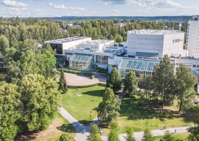 Tampere-talo Sorsapuisto © Laura Vanzo/ Visit Tampere
