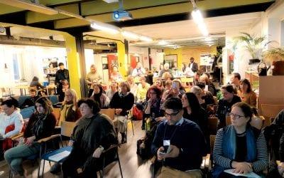 26.11.2019 TED center co-organised Entrepreneurship seminar at Tribe Tampere