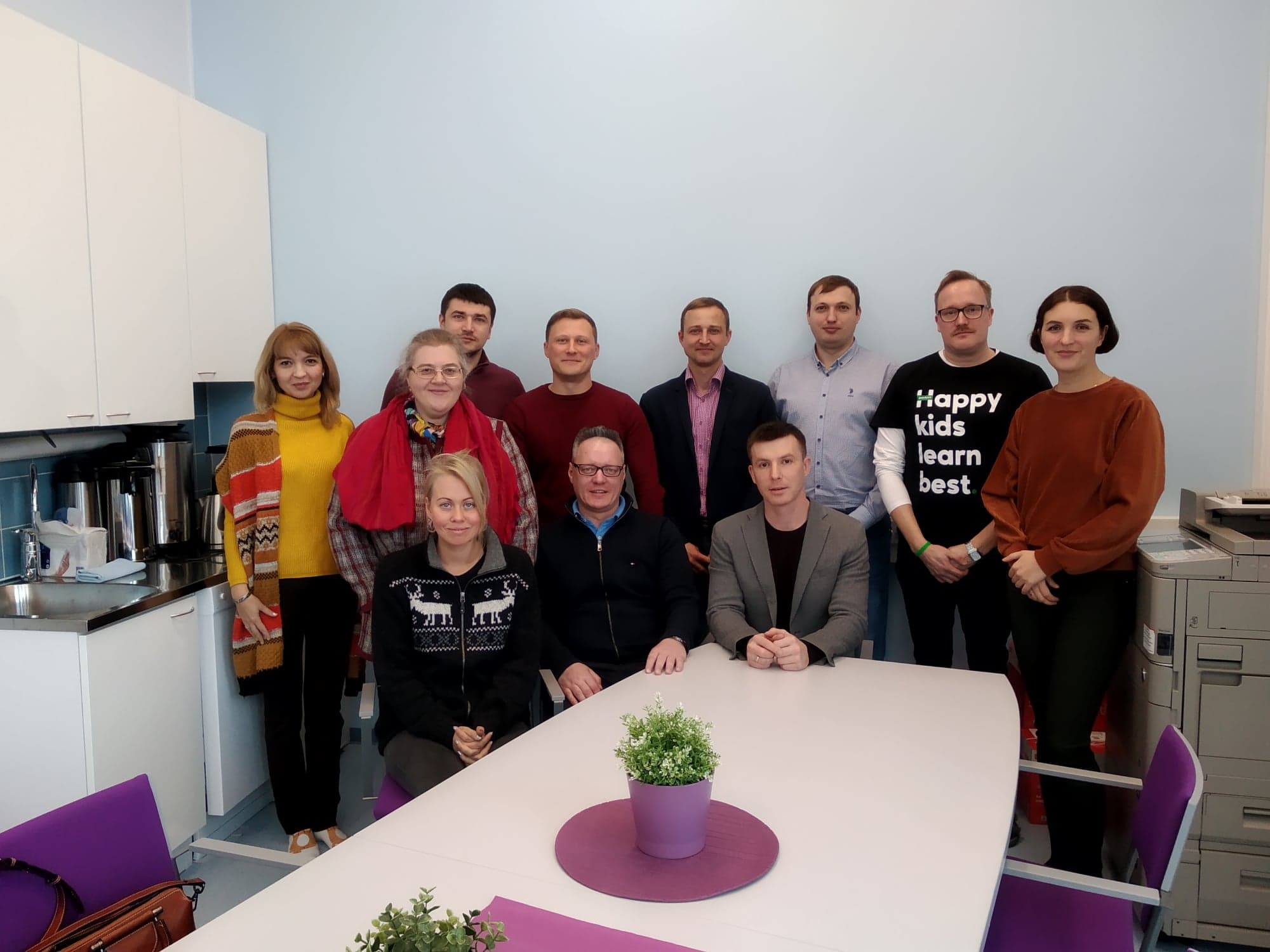 Tampere Expertise Development Center hosts the group of teachers and ICT specialist from Russia