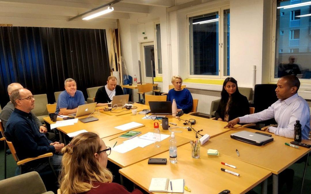 Education Tampere workshop on international sales TEd Center- Priyanka Banerjee, Troy Woodson