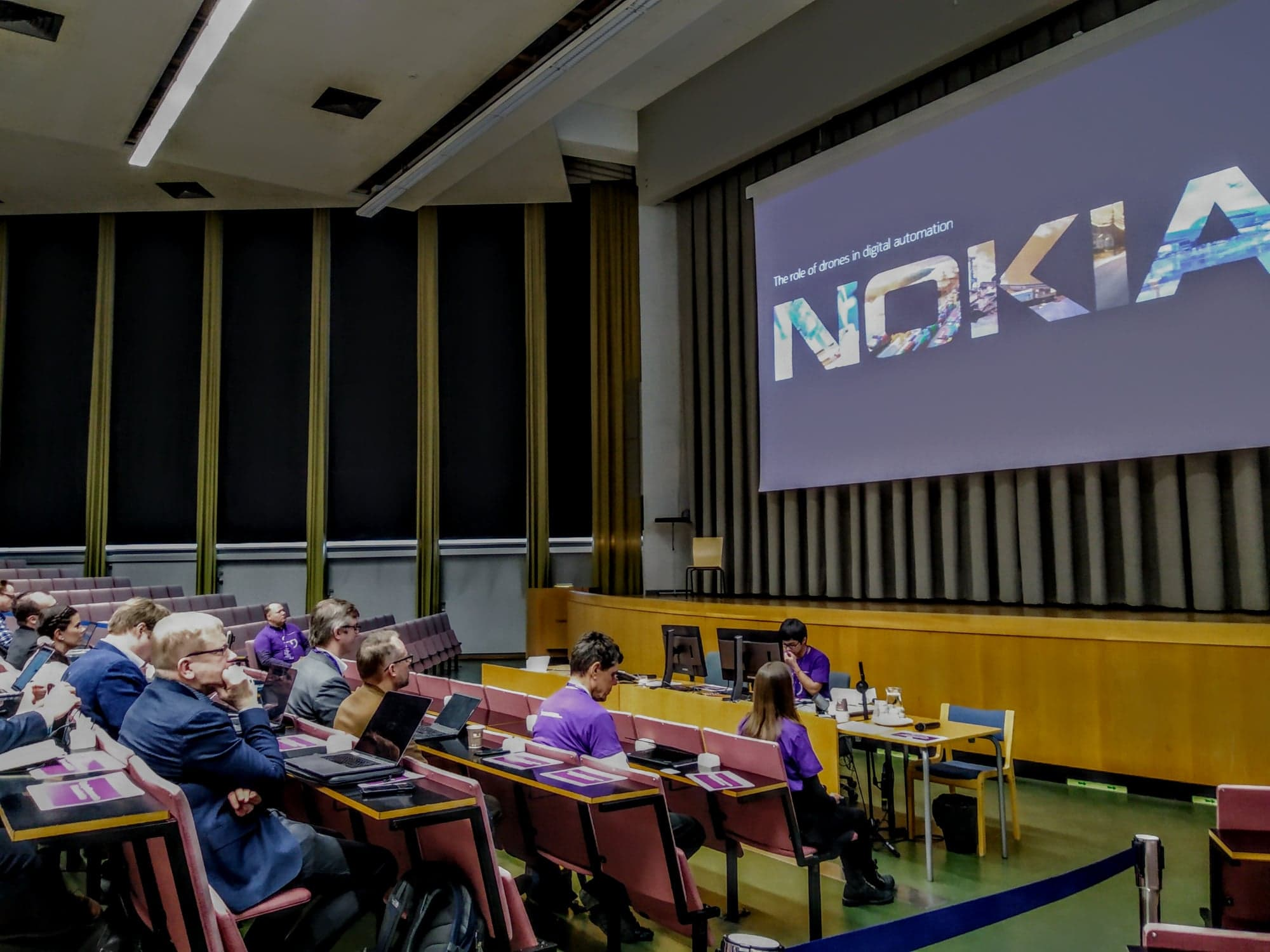Nordic Drone event- TED Center- Skills Center-TAMK