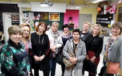 16-18.12.2019 group of educators from Yaroslavl in Tampere