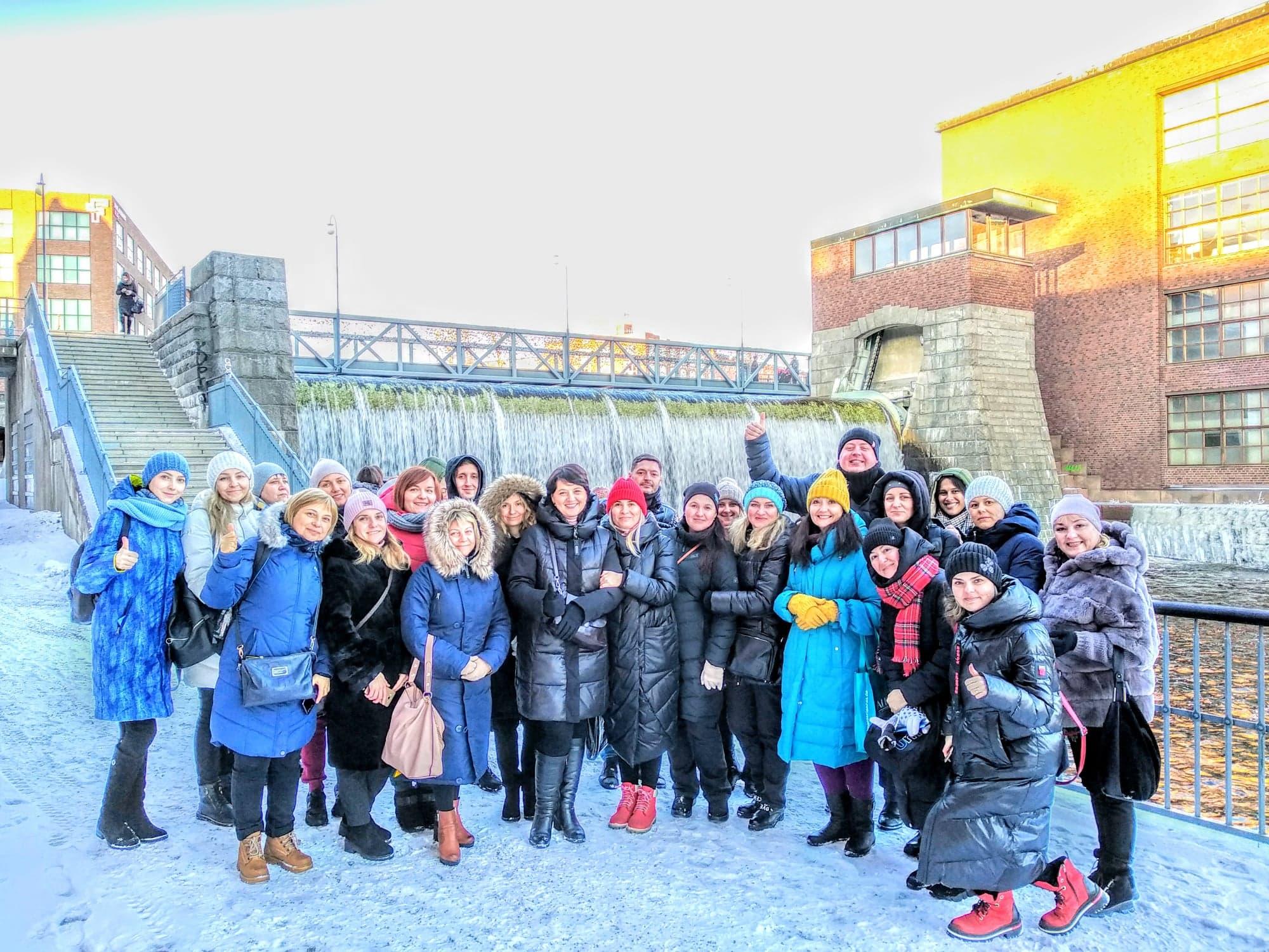 IIASC, TED Center, Ukraininan teachers in Tampere