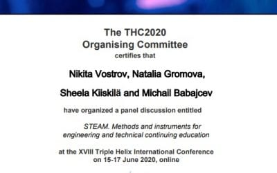 TED Center takes part in TRIPLE HELIX conference by TUNI